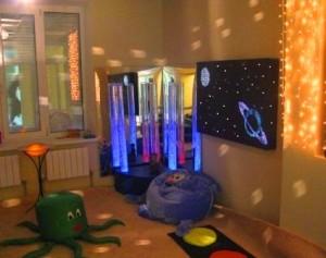 Сенсорная комната для детей