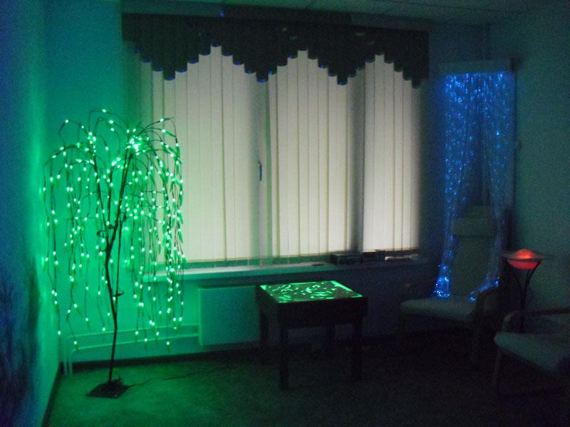 Дизайн сенсорной комнаты