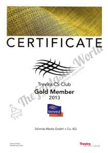 Trevira- сертификат, подтверждающий негорючие свойства ткани, обусловленные модификацией полиэфирного волокна