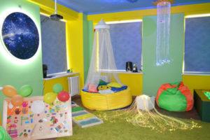 фото в саду сенсорная детском комната